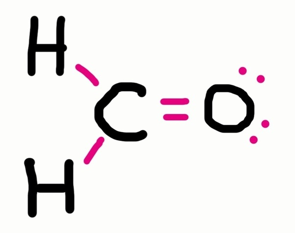 What Is The Lewis Structure Of Ch2o Quora