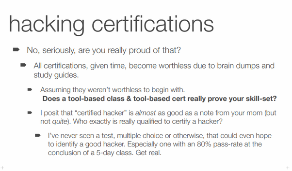 What are the best certifications available for Information Security ...