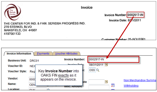 what does invoice number mean quora