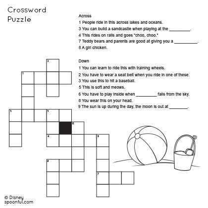 What Are Some Simple Crossword Puzzles For Grade 6