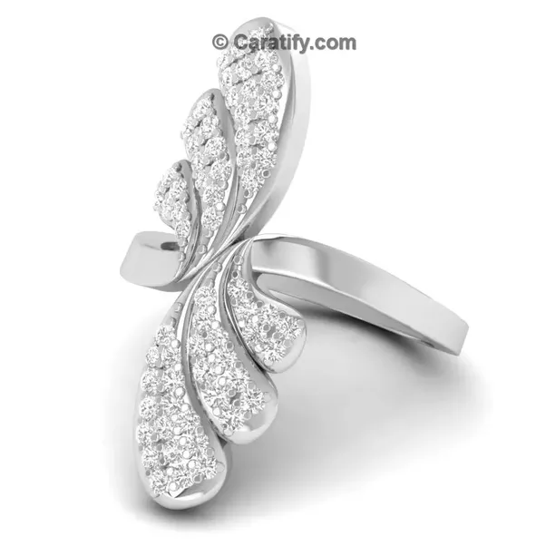 diamond ring with products pendant heart platinum jewelove rings pto grande sj