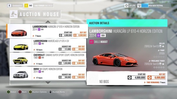 in forza horizon 3 at what point do you unlock the auction house quora. Black Bedroom Furniture Sets. Home Design Ideas