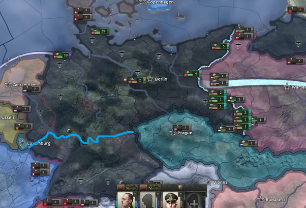 How to get France to capitulate while playing as Germany, in