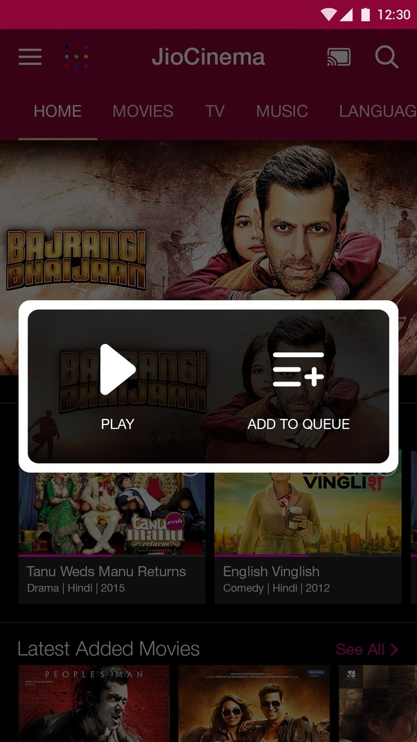 How to use Jio music and Jio cinema in iPhone - Quora