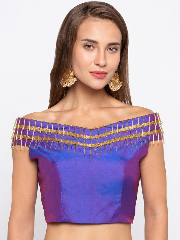 What Are Some Interesting Blouse Designs Quora