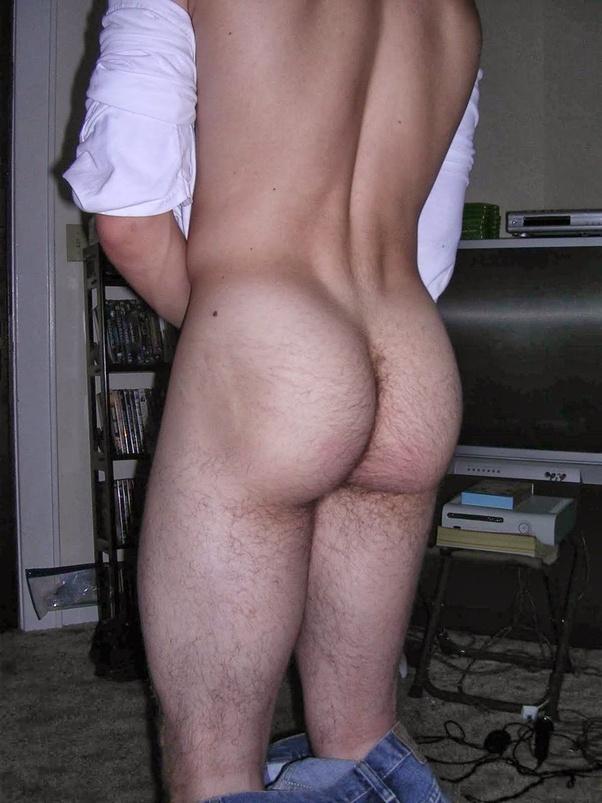 Male butt worship