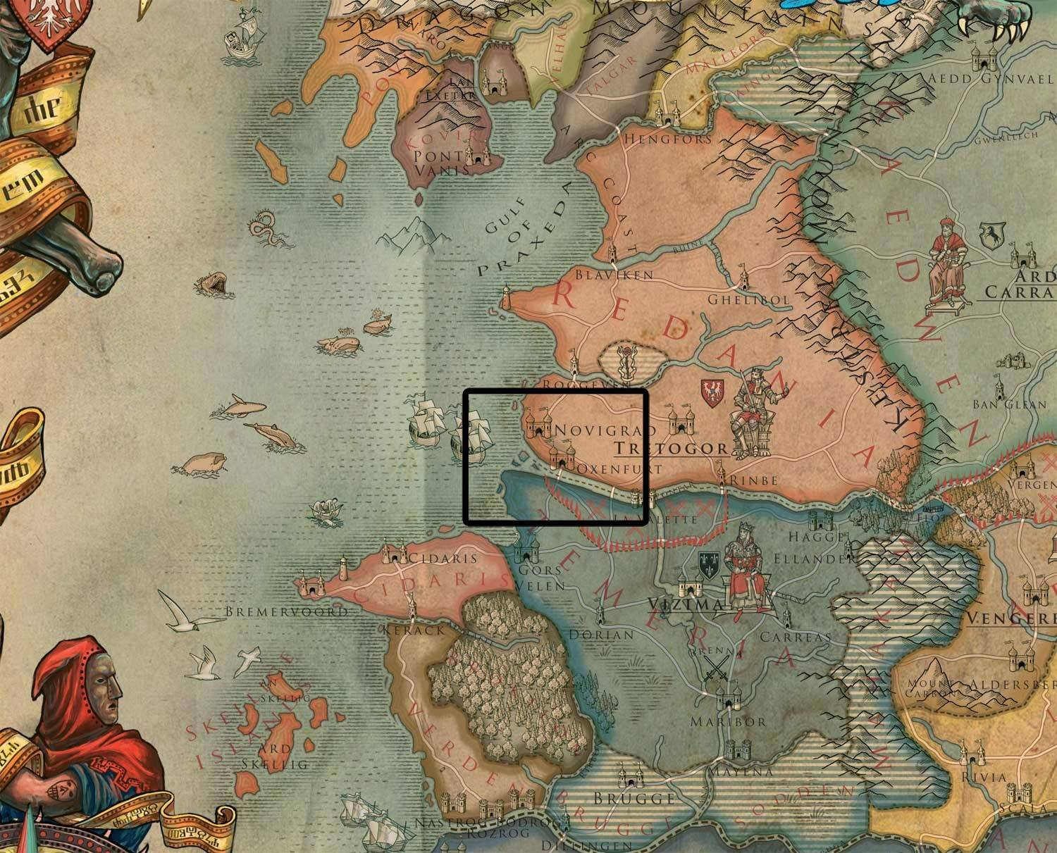 Is it just me, or is The Witcher 3\' map wildly inaccurate ...