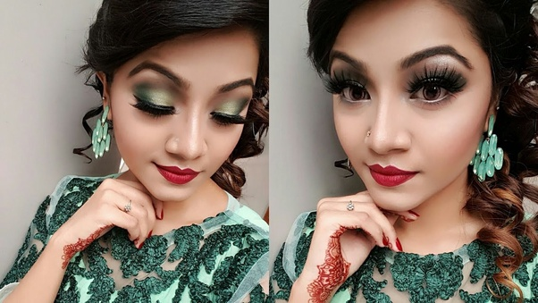 If You Wanna Keep It Simple And Elegant Then Go For Light Makeup From Eyes To