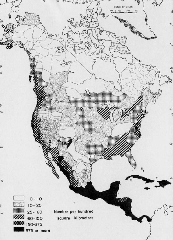 Map Of America Before Columbus.Where Did Most Native Americans Live Before Columbus Quora