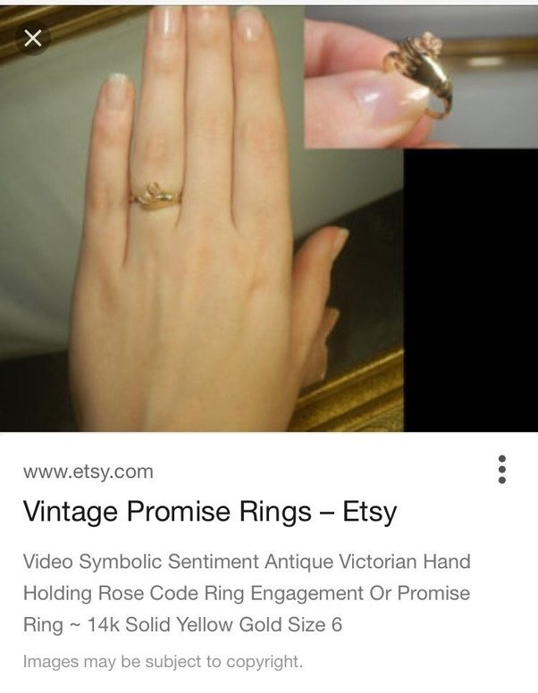 What hand and finger does a promise ring go on