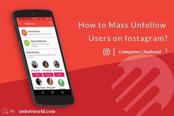 Instagram Unfollowers Desktop