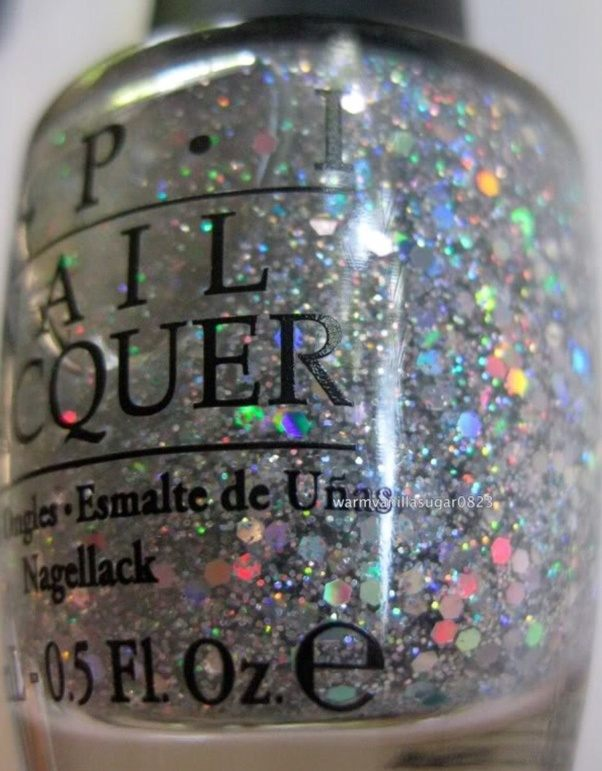 What is holographic nail polish made up of? - Quora