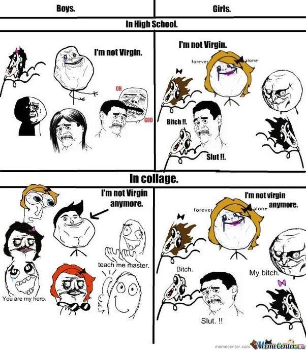 main qimg 48c864b4ac088c7afb50f99abd1f60b3 c what are some of the funniest boys vs girls memes? quora