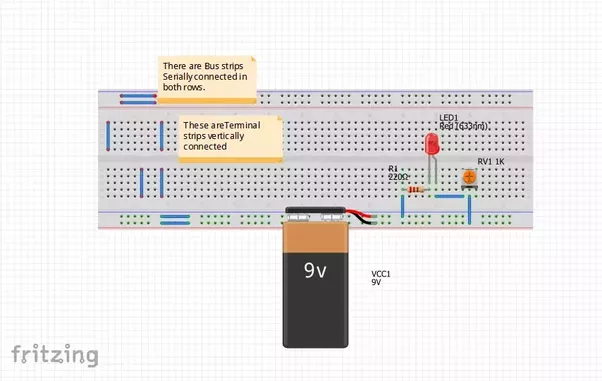 Do LEDs work on AC or DC? If AC, how small of LEDs work with a 9V ...