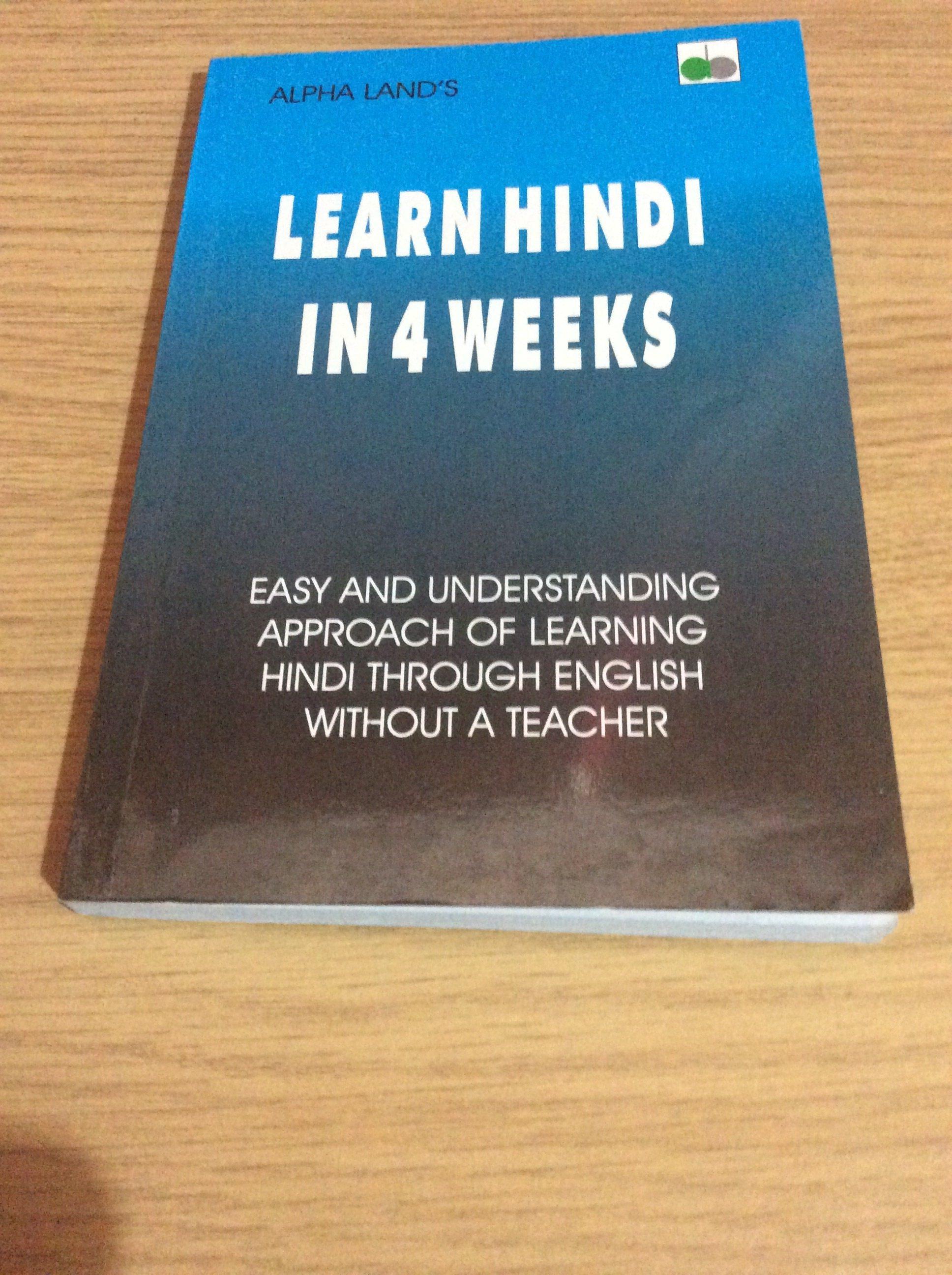 Learn Hindi Through English Book