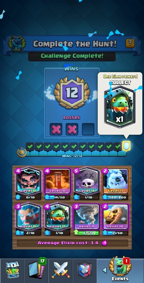 What is the best deck for Dragon Hunt challenge in Clash