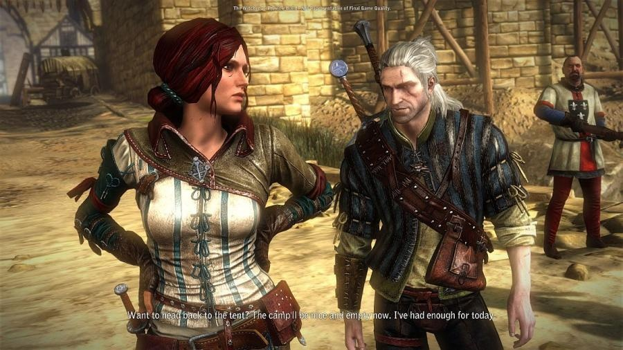 Are all The Witcher games connected to each other? Can I