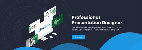 what are examples of freelancers or companies who do presentation