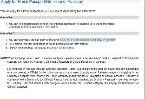 What Is The Procedure To Get A Fresh Passport Quora