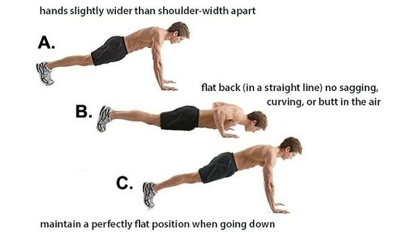 how to get good push up form quora