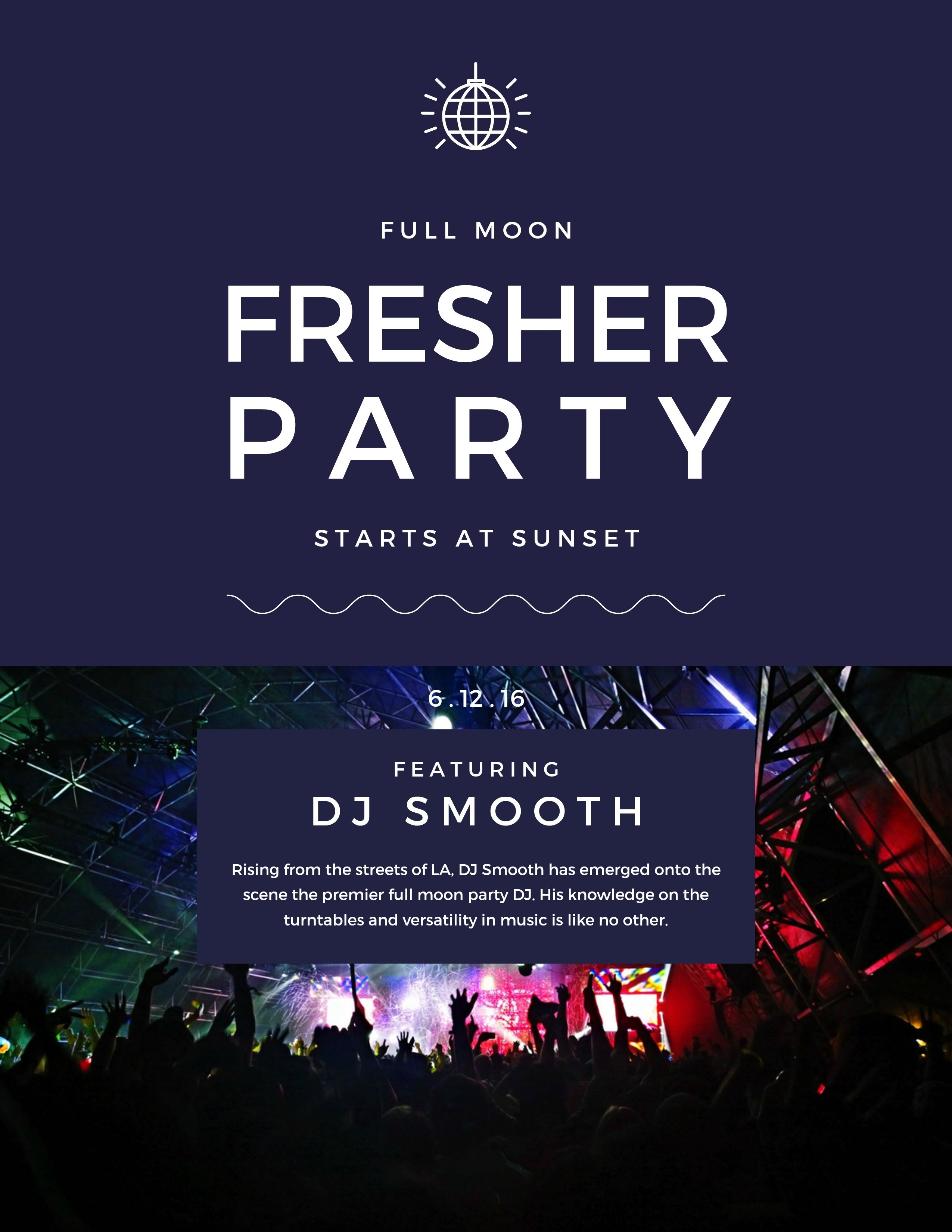 What are some creative ideas for hosting a fresher's party at