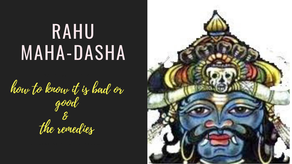 What are the remedies to be done for a bad Rahu in Rahu