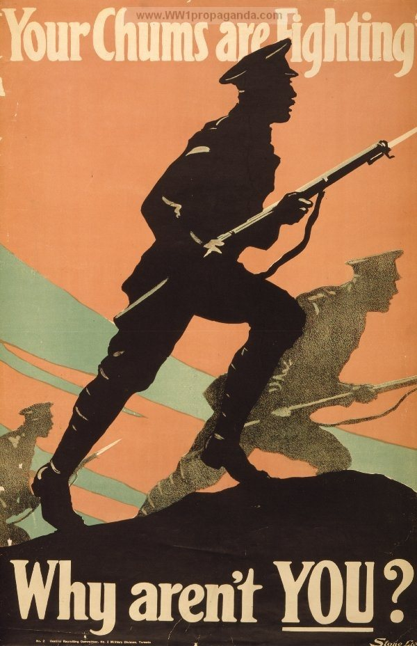 what are some good ww1 propaganda poster ideas for a school project