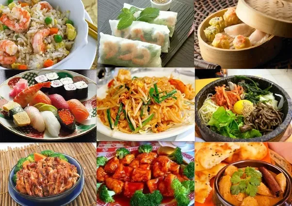 What are some examples of multicultural food in australia for Asian cuisine in australia