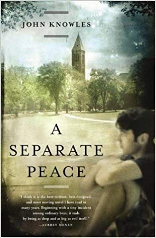 friendship in a separate peace by john In john knowles' novel a separate peace, friendship is a distinguished theme friendship is exhibited when two people share many common interests, do not turn on each other, and are not envious of each other.