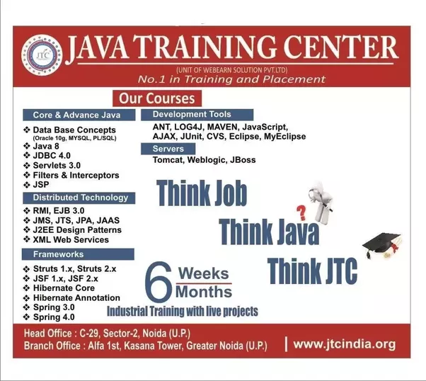 Which Is The Best Certification Training Center For Java Quora