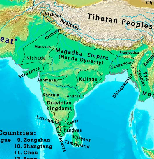 How did the map of India change from 1 AD to the 21st century Quora