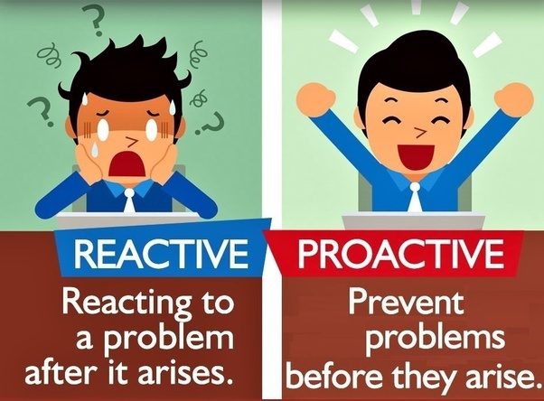 What's better, 'reactive' or 'Proactive'? - Quora