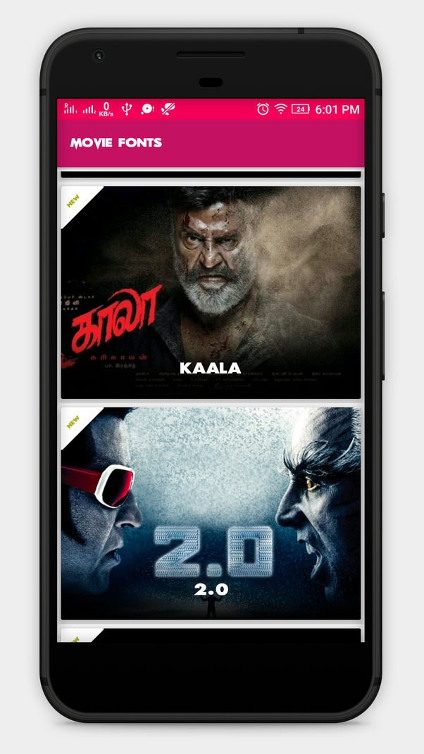 Where can I download the latest Tamil movie fonts? - Quora