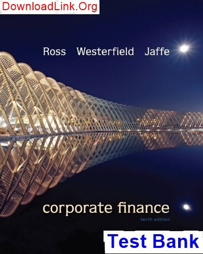 essentials of corporate finance 4th edition solutions