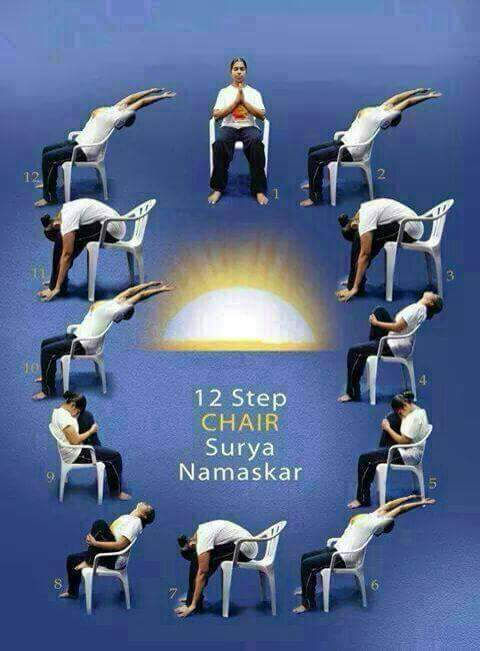 This shows few yoga positions that can be done on a chair. And almost all of them can be performed on the office chair without being weird. P & Can yoga be practiced in office chair (computer desk) that do not ...