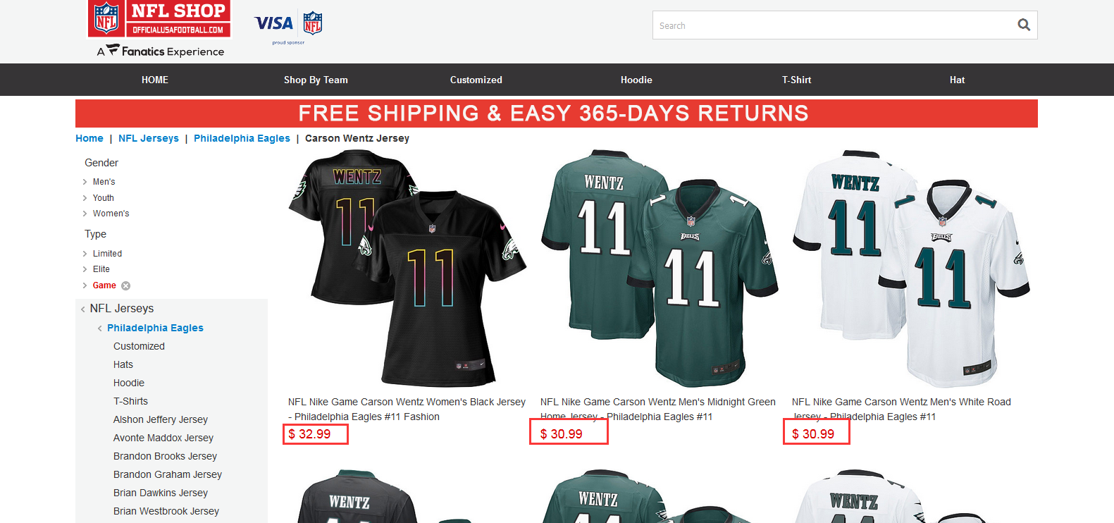 88ad563911b What is a good website to buy sports jerseys  - Quora