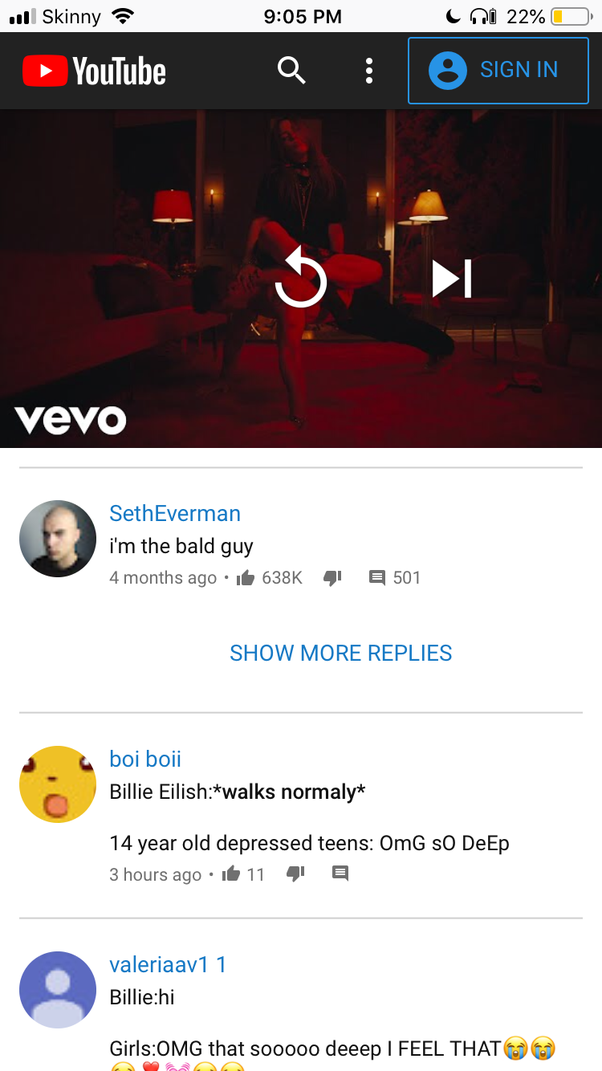 What is the most liked comment on YouTube? - Quora