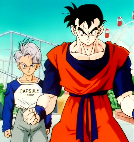 Future Goten And Trunks Why did Trunks ...