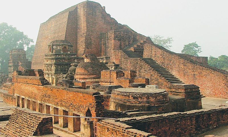 Image result for Nalanda destroyed