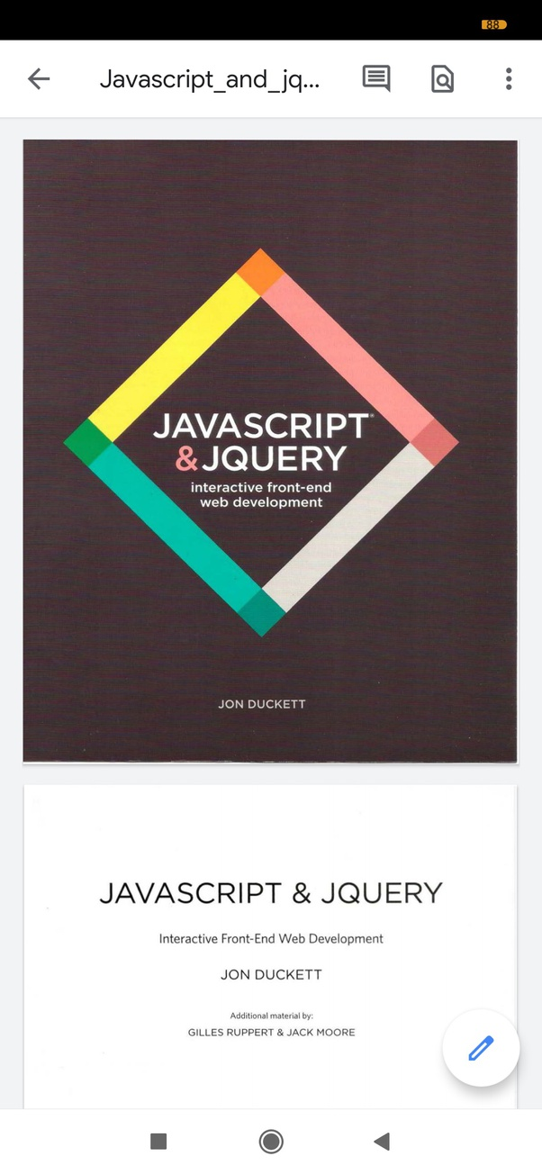 What Is The Link For Downloading Javascript And Jquery Pdf By Jon Duckett Quora