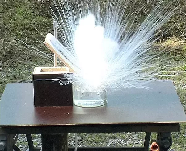What Causes Rubidium To Explode In Water?