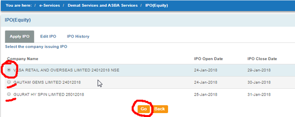 How to purchase ipo through sbi