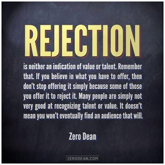 Getting Over The Fear Of Rejection