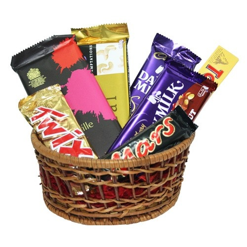 Hi You Can Give A Chocolates Gourmet Gift Hamper