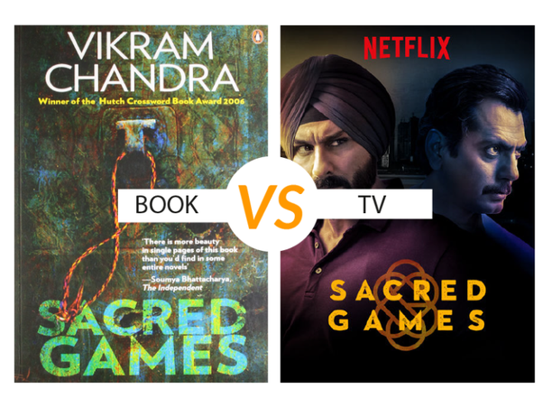 How different is Sacred Games Netflix series to the book