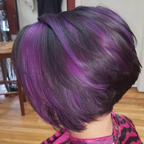 How To Dye My Hair Purple From Black Hair