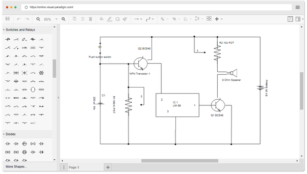 how to draw circuit diagrams on my computer  quora