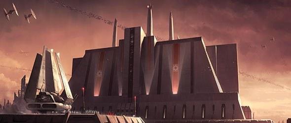Jedi Temple Outside Building Episode