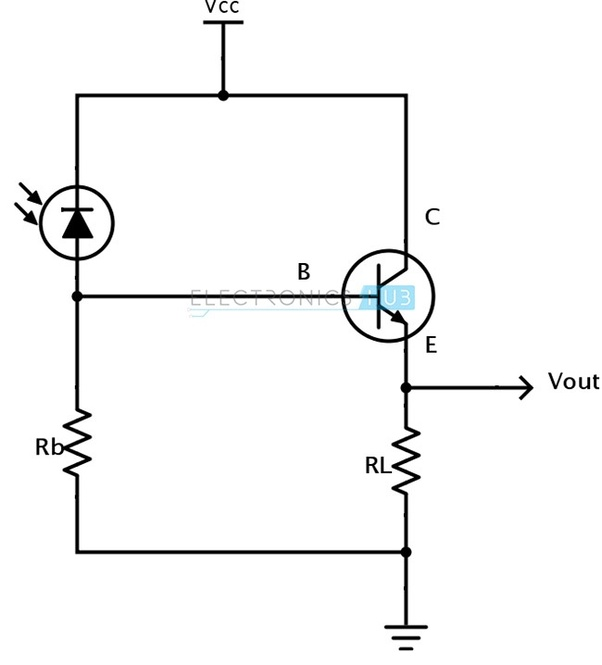 использовать транзистор вместо фотодиода быков