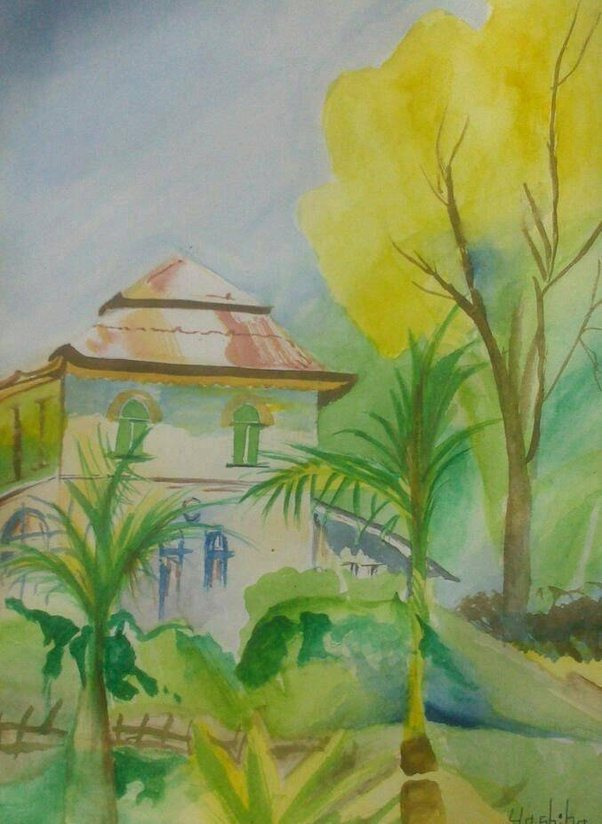 pictures to watercolor